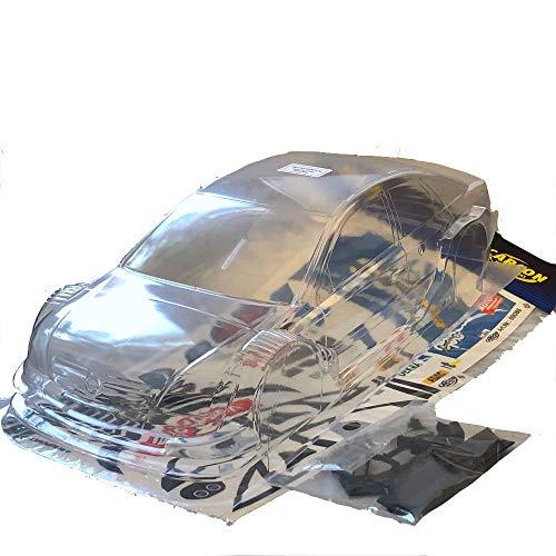 partCore RC Car Karosserie 1:10 unlackiert DTM Vectra GTS 13663 mit Dekorbogen OPC Reuter 69086