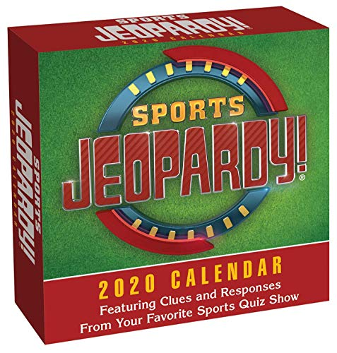 Sports Jeopardy! 2020 Day-To-Day Calendar