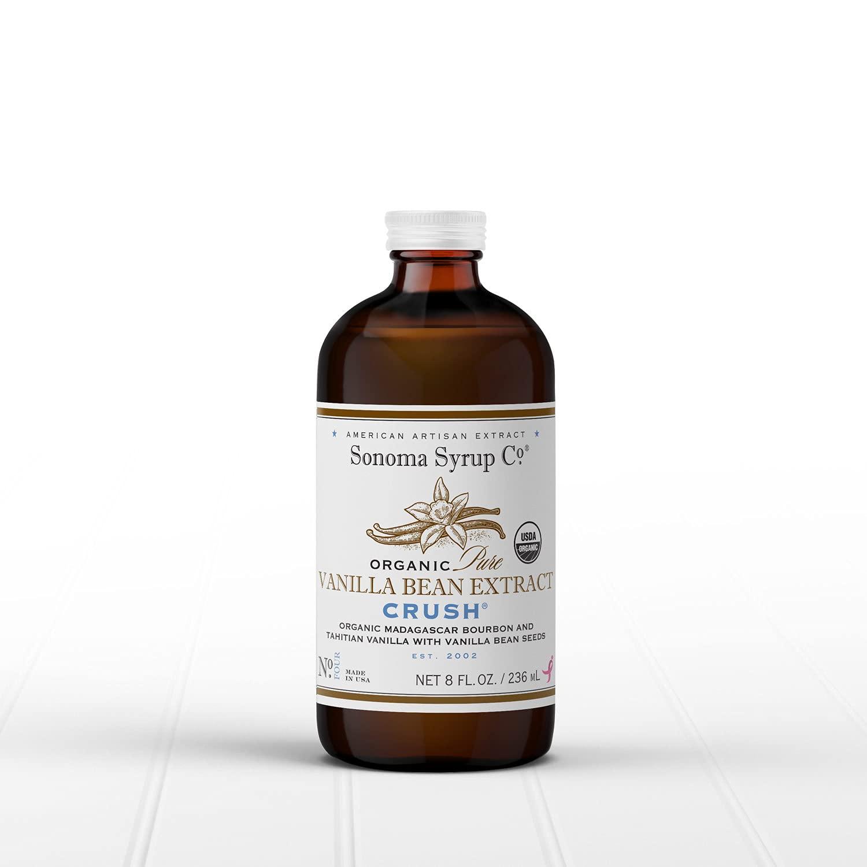 Topics on TV Sonoma Syrup Co Organic Pure Vanilla 8 Extract oz Bean Quantity limited