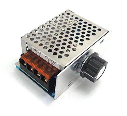 DollaTek Regolatore di velocità dimmer termostato AC 220V 4000W SCR regolatore di Tensione elettronico ad Alta Potenza