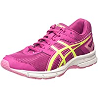 ASICS - Gel-Galaxy 8 GS, Zapatillas de Running Niñas, Rosa (Berry/Flash Yellow/Flamingo 2107), 36 EU