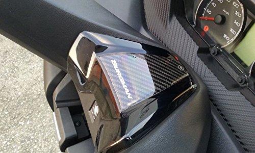 Adhesivo/Etiqueta Engomada 3D Manillar Compatible para Scooter Suzuki Burgman 400 de 2017