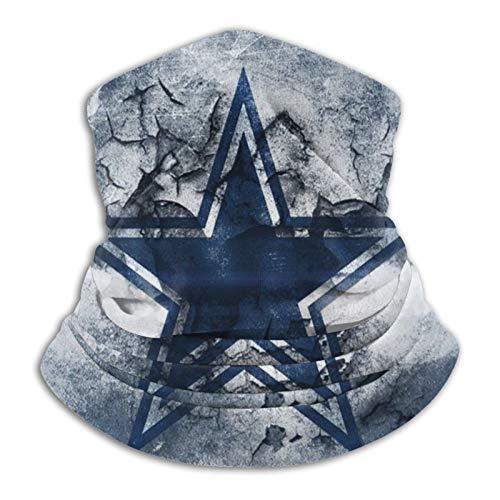 Dallas Cowboys, Sport, perfekt zum Wandern, ideal für Unisex-Bandana, Sturmhaube, waschbar, wiederverwendbar, UV-Schutz, weich, atmungsaktiv, Auspuff.
