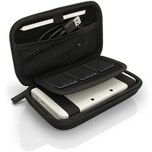 iGadgitz U3604 - Custodia Rigida Eva Compatibile con Nintendo 3DS (Non per 3DS XL) - Nero