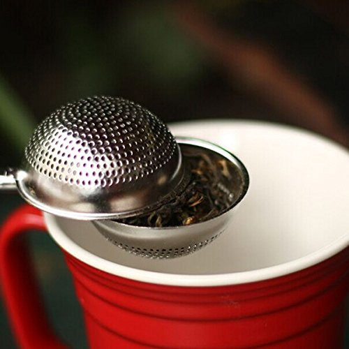 tea pot with infuser strainer Stainless Steel Mesh Ball Spice Herbal Loose Leaf Infuser Tea Strainer Filter