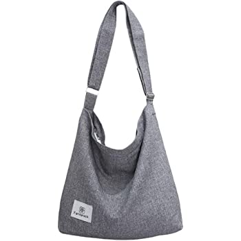 Casual Purses for Women,Fanspack Tote Bag Women's Hobo Handbags Women's Shoulder Handbags Women's Tote Handbags Tote Bag Crossbody Shoulder Bag Shopping Work Bag(Light Grey)