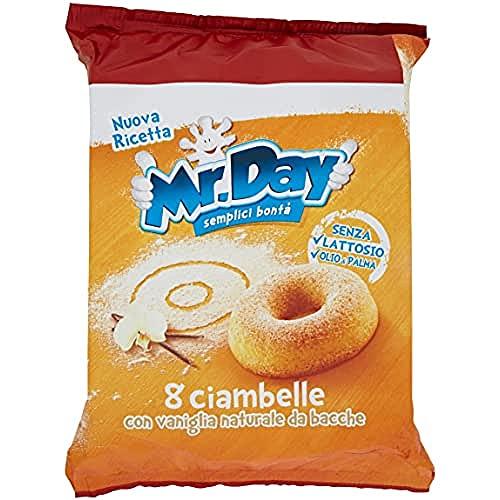 Mr. Day Ciambelle, Confezione da 8, 304g