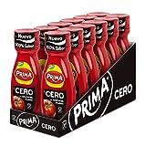 Prima Cero - Ketchup Cero, Sin Azúcares Añadidos, Mismo Sabor Y Mitad De Calorías, Pack 12 Uds X 325gr, 3900 Gramo