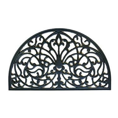 Rubber-Cal  Serene Garden Rubber Cast Iron Doormat, 18 by 30-Inch