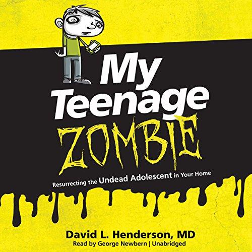 My Teenage Zombie audiobook cover art