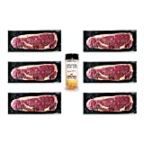 Aged Angus New York Strip by Nebraska Star Beef -Prestige- Hand Cut and Trimmed and Includes...