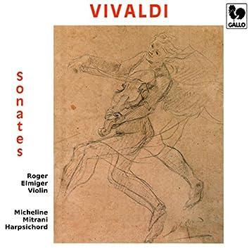 Vivaldi: Violin Sonatas RV 5, 10, 14, 15, 17a, 21, 26 & 35