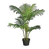 Palmier artificiel Hauteur 100cm Real-Touch plante artificielle houseplant plante d'intérieur Plante verte