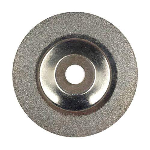 Easyeeasy Muela abrasiva de diamante 100 MM Discos de corte Rueda Hojas de sierra de corte de vidrio Hojas de corte Herramientas abrasivas rotativas