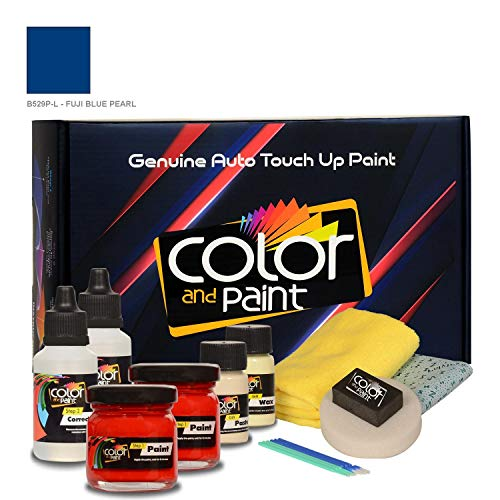 Color and Paint Compatible with/Honda Element/Fuji Blue Pearl - B529P-L/Touch UP Paint System for Paint Chips and Scratches/PRO Care
