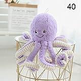 rosemaryrose Krake Kuscheltier Oktopus Kuscheltier Kuscheltier-Schöne Plüsch Puppe Große Krake Puppe Spielzeug