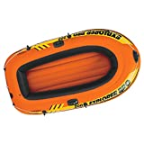 Intex Explorer Pro 200, 2-Person Inflatable Boat Set with French Oars and High Output Air Pump by Intex Recreation Corp.