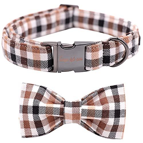 Unique style paws Herbst Hundehalsband, Fliege Hundehalsband, bequem verstellbare Hundehalsbänder Haustier mittelgroße Hunde