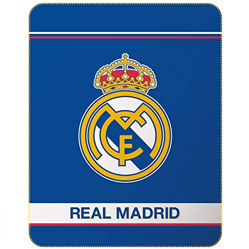 Real Madrid - Manta Polar (140 x 110 cm)