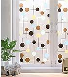 LMKJ Pellicola per vetri Privacy Pellicola per vetri Decorativa smerigliata Pellicola per vetri elettrostatica Senza Colla Pellicola per vetri Anti-ultravioletti A75 40x100cm