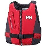 Helly Hansen Rider Vest Chaleco de Ayuda a la flotabilidad, Unisex Adulto, Rojo (Red/Ebony), 70/90 KG