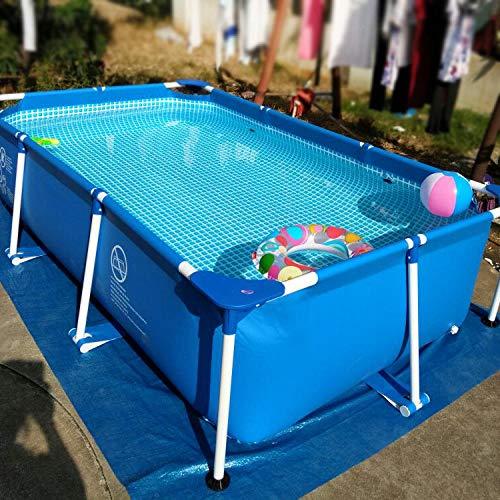 Topashe Kinderpool Swim Center Family Lounge Pool,Verdickter Außenpool, großer Pool mit Klammern - 7,3 * 3,66 * 1,32 m,Aufblasbarer Pool für Garten Familienpool