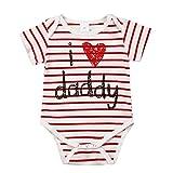 Recién Nacido bebé Ropa de niño Rayas Trajes de Body, niño niña Bebes...