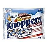 Gaufrettes au chocolat | Knoppers | Gaufres fourrées | Poids total 200 grammes