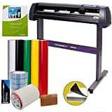 Vinyl Cutter USCutter MH 34in Bundle - Sign Making Kit w/Design & Cut Software, Supplies, Tools, US-Based Customer...