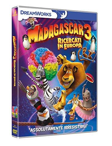 Locandina Madagascar: Ricercati in Europa (DVD)