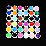 BiaBai 36 colores macetas constructor de Gel UV puro para esmalte de uñas consejos de manicura DIY mujeres belleza de uñas Gel de maquillaje