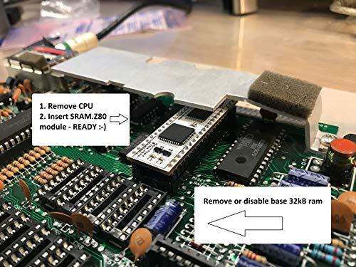 Sintech.DE Limited Z80SRAM - RAM/CPU Modul passend für Sinclair ZX Spectrum 48k