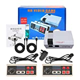 LINGSFIRE Mini consola de juegos retro Consola de juegos para niños con 2 controladores...