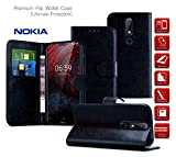 MobiBax Nokia 6 2017 Case, Leather Wallet Cases [Card