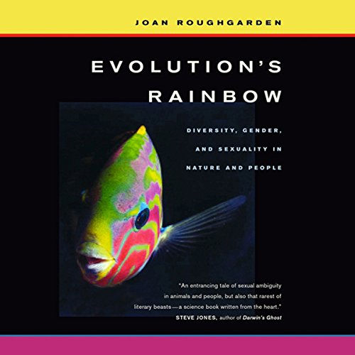 Evolution's Rainbow audiobook cover art