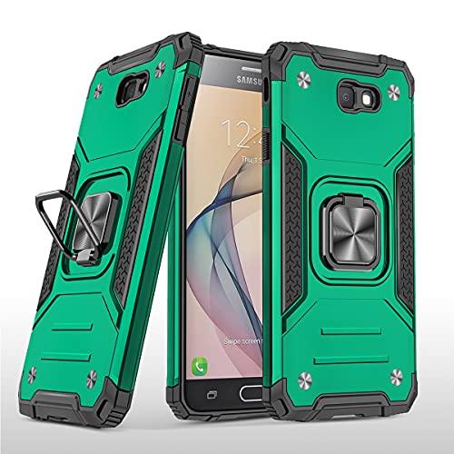 Swdan für Samsung Galaxy On7 Hülle,180 Grad Ring Halter Handy Hüllen Cover Magnetische Bumper Schutzhülle für Hülle Samsung Galaxy On7 Handyhülle