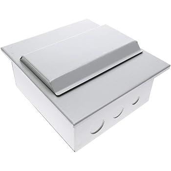 BeMatik - Caja de distribución eléctrica de 6 módulos de empotrar de plástico ABS SPN IP40: Amazon.es: Electrónica