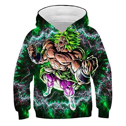 Off White Dragon Z Ball Kinder Goku Sweatshirts Jungen Super Saiyajins Hoodies DBZ Vegeta 3D Pullover Hooded Girls Lustige Hoody-Tyw-1635