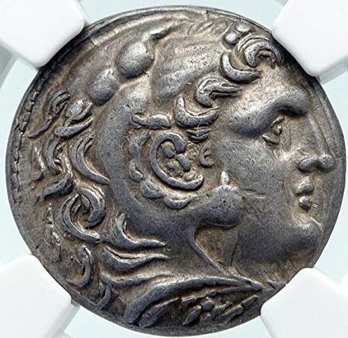 1000 GR ANTIGONOS II GONATAS AR Greek TETRADRACHM Coin AL Tetradrachm Ch XF NGC