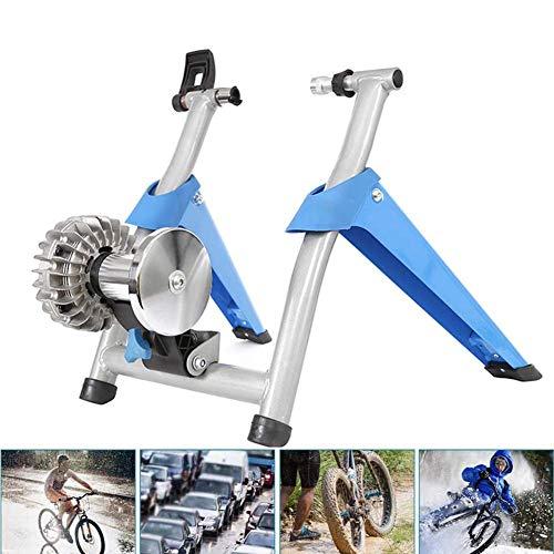 YLEI Entraineur Vélo Home Trainer Vélo à Fluide Support Entraînement pour Vélo Intérieur Roues 26 à 29 Pouces et 700 C