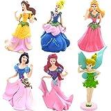 Estatuas en miniatura BESLIME, 6 juegos de decoraciones de jardín en miniatura, estatuas de paisaje en miniatura para bricolaje, utilizadas para decoración de jardín, decoración del hogar