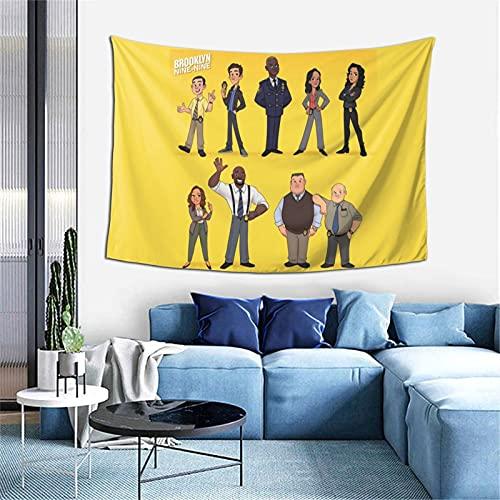 Charles Boyle serie 8 TV Memorabilia brook-lyn nueve 99 Amy Santiago dramedy figuras de acción interior de tela decorativa decoración del hogar Pascua 3d Impreso para sala de estar regalos
