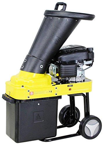 Benzin Gartenhäcksler Häcksler Schredder Holzhäcksler Motorhäcksler Craftfull 4,4 KW 6 PS 173ccm