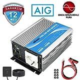GIANDEL 600W Inverter DC 12V a AC 220V 230V Invertitore Inverter di Potenza Convertitore o...