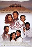 Jigsaw Puzzles 1000 Much ADO About Nothing Poster Movie Kenneth Branagh Emma Thompson Keanu Reeves Kate Beckinsale