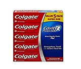 Colgate Cavity Protection Regular Flavor Fluoride Toothpaste 8 Ounce Tube (10 Pack)
