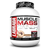 Labrada Muscle Mass Gainer (Gain Weight, Post-Workout, 52g Protein, 250g Carbs,1g Creatine, 500mg L-Carnitine, 9 Servings) – 6.6 lbs (3 kg) (Chocolate)