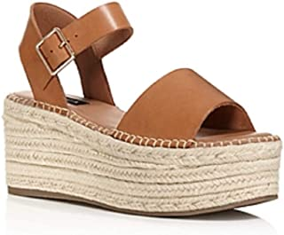 NOTFOUND Womens Ria Leather Open Toe Casual Platform Sandals US