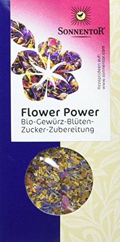 Sonnentor Flower Power Gewürz-Blüten-Zubereitung, 1er Pack (1 x 35 g) - Bio