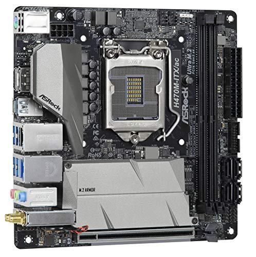ASRock H470M-ITX/ac Mini ITX LGA1200 Motherboard